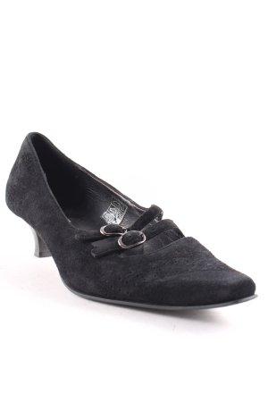 Esprit Riemchenpumps schwarz klassischer Stil