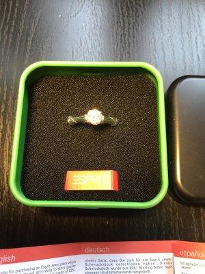 Esprit Ring 925 Silber mit zirkonia