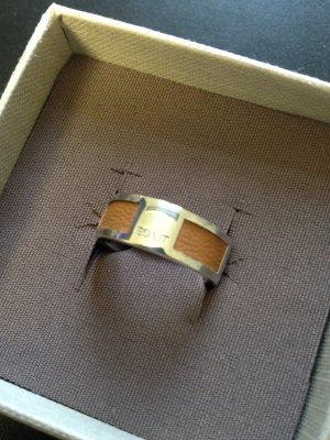 Esprit Ring Gr. 7, 925 Silber mit Leder