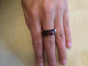 Esprit Ring Lila Silber Größe 17