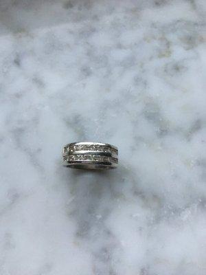 Esprit Ring mit doppelter Steinchenreihe