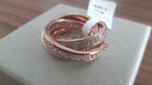 Edc Esprit Gold Ring rose-gold-coloured
