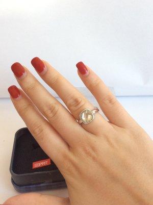 Esprit Ring Silber mit edlem Stein