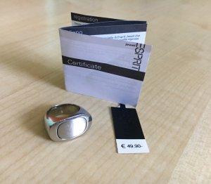 ESPRIT Ring, silberfarben, Damenring, Unisex-Ring