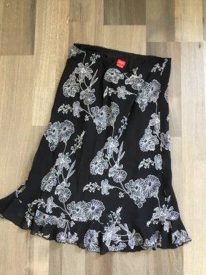 Esprit Volanten rok zwart-wit