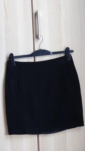 Esprit Minifalda negro Lana