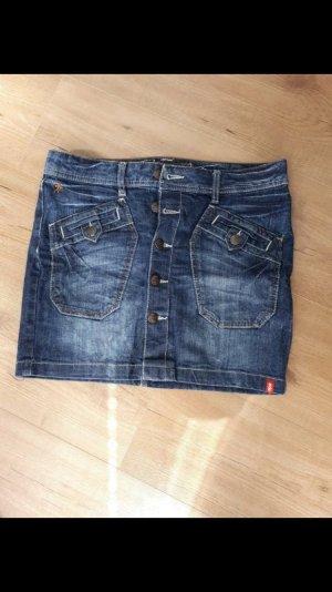 edc by Esprit Gonna di jeans blu