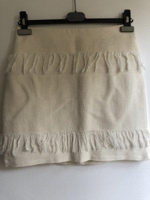 Esprit Fringed Skirt cream
