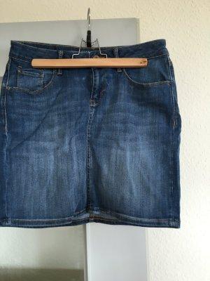 Esprit Rock Jeansrock Damen, Weite 28, Größe 36 S