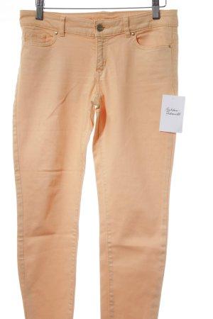 Esprit Pantalón de tubo albaricoque estilo clásico