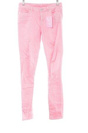 Esprit Tube jeans roze extravagante stijl