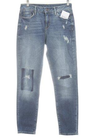 Esprit Röhrenjeans stahlblau Jeans-Optik