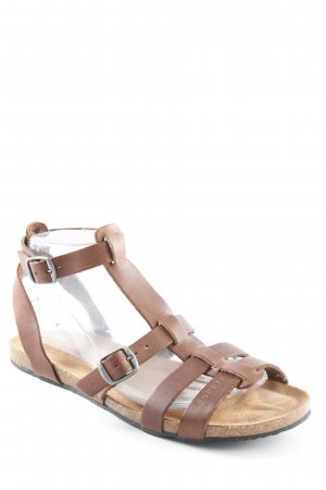 Esprit Romeinse sandalen bruin Beach-look