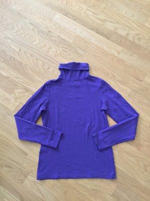 Esprit rollkragen shirt lila