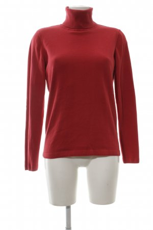 Esprit Rollkragenpullover rot Business-Look