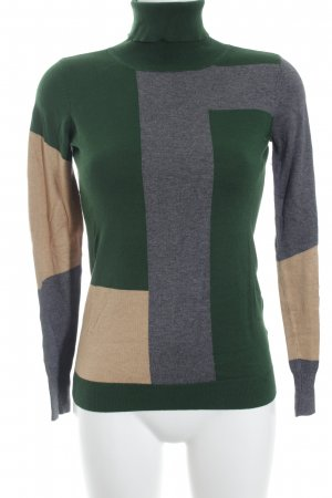 Esprit Rollkragenpullover grafisches Muster Casual-Look