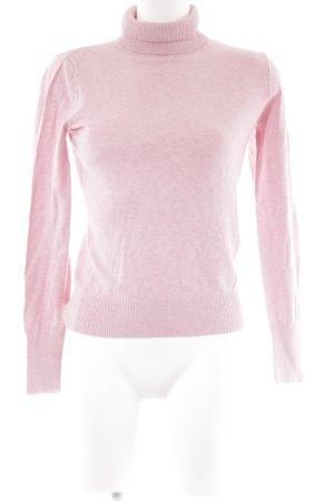 Esprit Maglione dolcevita rosa chiaro stile semplice