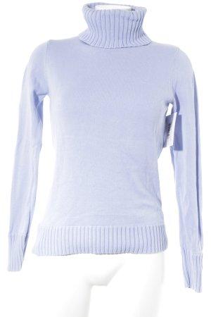 Esprit Jersey de cuello alto azul celeste estilo clásico