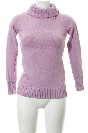 Esprit Rollkragenpullover rosa Casual-Look