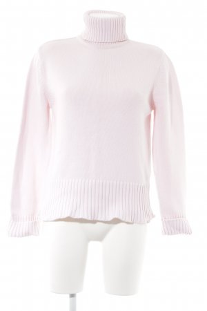 Esprit Rollkragenpullover rosé Casual-Look