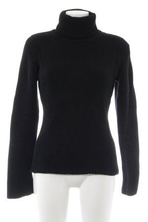 Esprit Rollkragenpullover schwarz Casual-Look