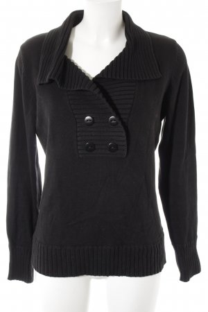 Esprit Turtleneck Sweater black casual look
