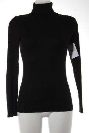 Esprit Rollkragenpullover schwarz schlichter Stil