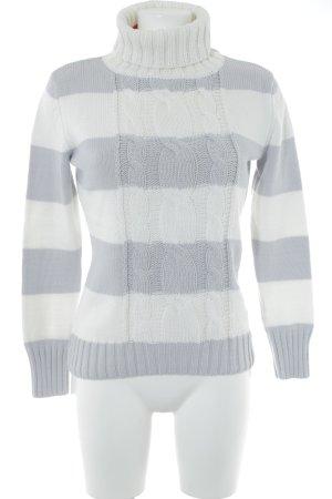 Esprit Coltrui wit-azuur gestreept patroon casual uitstraling