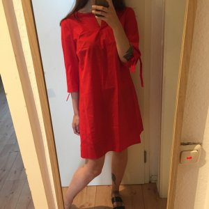 Esprit rotes Sommerliches Kleid mit Schleifen