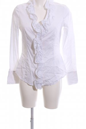 Esprit Ruffled Blouse white business style