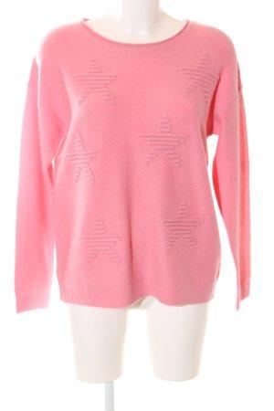 Esprit Rundhalspullover pink Casual-Look