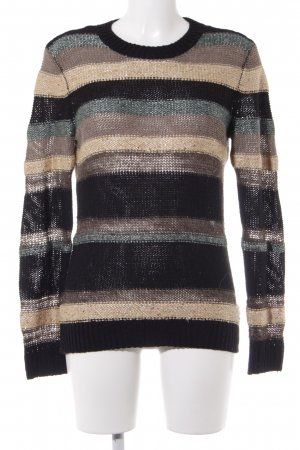 Esprit Kraagloze sweater gestreept patroon straat-mode uitstraling