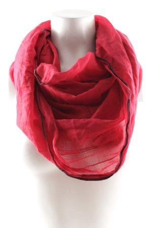 Esprit Caperuza rojo neón-negro rayas horizontales look casual