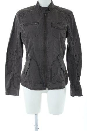 Esprit Safari Jacket black striped pattern casual look