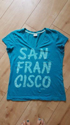 Esprit SAN FRANCISCO City Städte Shirt Reisen Petrol S 36