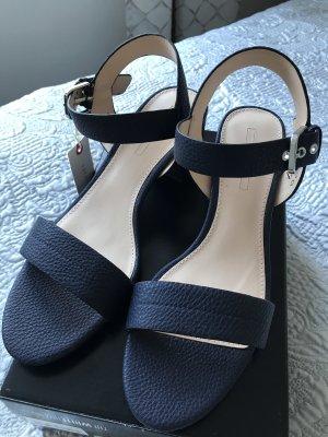 Esprit Strapped Sandals dark blue