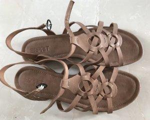 Esprit Sandalette in braun Gr.40