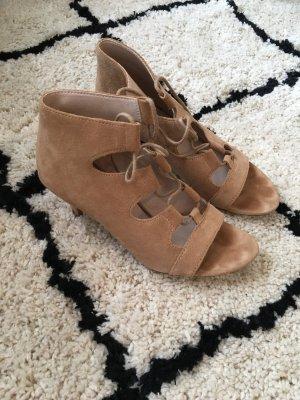 Esprit / Sandaletten aus echtem Wildleder zum Schnüren