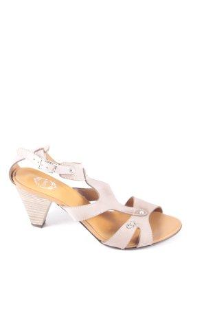 Esprit High-Heeled Sandals light brown casual look