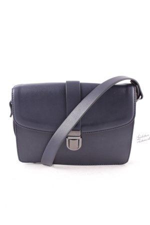 Esprit Satchel dark blue minimalist style