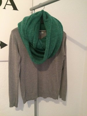 Esprit Tube Scarf forest green wool