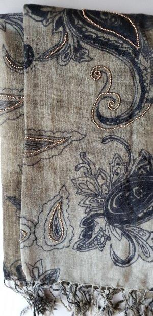 Esprit Schal mit Perlenstickerei, Stola