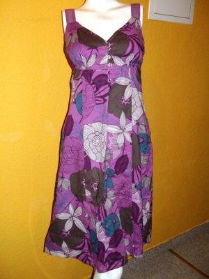 Esprit Vestido corte imperio multicolor Algodón
