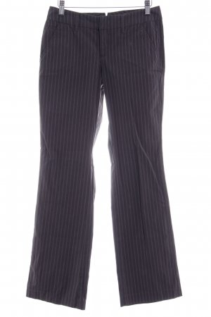 Esprit Flares anthracite striped pattern casual look