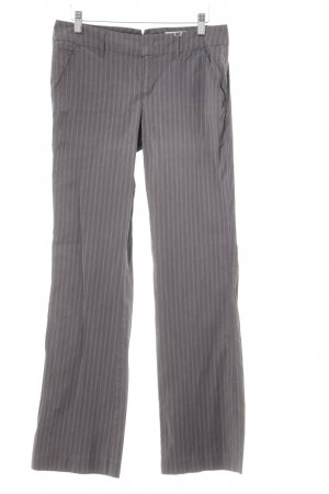 Esprit Flares grey-natural white striped pattern business style