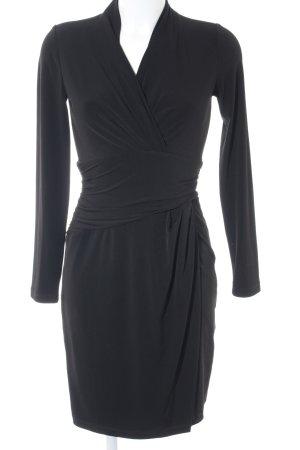 Esprit Vestido de tubo negro look casual