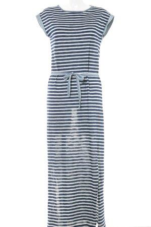 Esprit Vestido de tubo estampado a rayas look casual