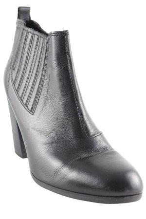 Esprit Schlüpf-Stiefeletten schwarz klassischer Stil