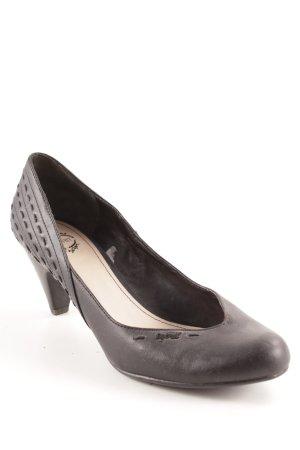 Esprit Schlüpfschuhe schwarz Elegant