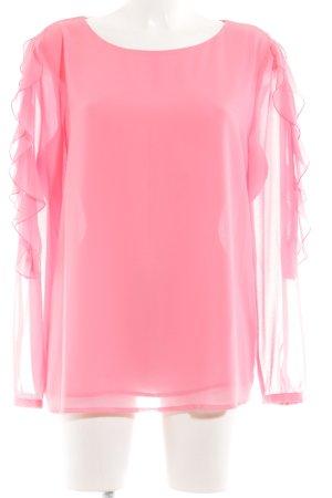 Esprit Blusa caída rosa look casual